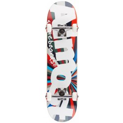 "Skate Completo Almost Off Center Color Wheel Red/Blue - 7.375"""" (Mid)"