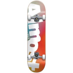 "Skate Completo Almost Side Pipe Fade Youth - 7.375"""" (Mid)"