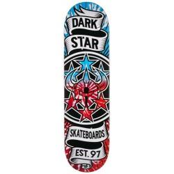 "Tábua Darkstar Civil Emboss Tie Dye Red/Blue - 8.25"""""