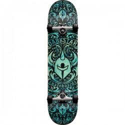 "Skate Completo Darkstar Convolute Aqua (Soft Wheels) - 7.25"""" (Mid)"