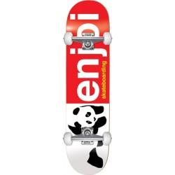 "Skate Completo Enjoi Half and Half Red - 7.0"""" (Mini)"