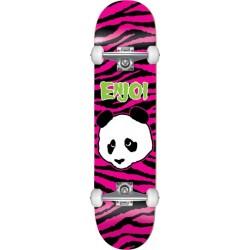 """Skate Completo Enjoi Zebra Punk Pink - 7.375"""""""" (Mid)"""