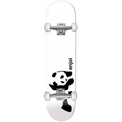 "Skate Completo Enjoi Whitey Panda White - 7.75"""""