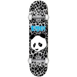 """Skate Completo Enjoi Leopard Punk Grey - 7.25"""""""" (Mid)"""
