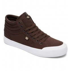 Ténis DC Evan Smith Hi Tx Chocolate Canvas