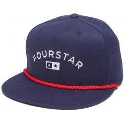 Boné Fourstar Bar Lock Up Navy Snapback