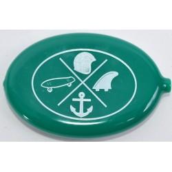 Porta Moedas Lifestyle - Verde/Branco