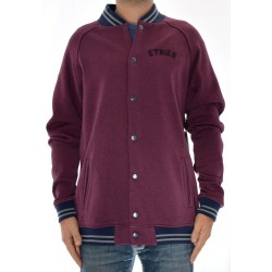 Casaco Etnies Stadium BBall Fleece - Burgundy