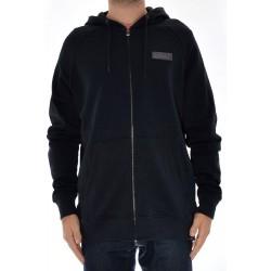 Sweat Hood Zip Etnies Core Icon - Black