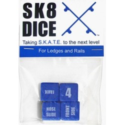 Sk8 Dice - For Ledges and Rails