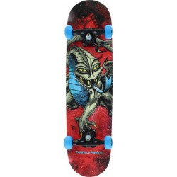 Skate Completo Powell Peralta Cab Dragon Cosmic Red - 7.75""""