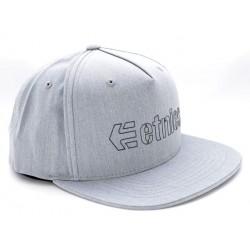 Boné Etnies Corporate 5 - Grey