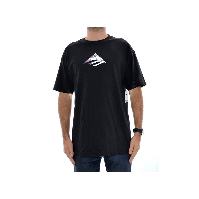 T Shirt Emerica Triangle - Black