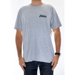 T-Shirt Etnies Speed Script - Grey/Heather