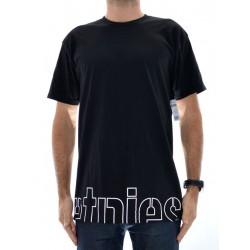 T-Shirt Etnies Stencil Crop - Black