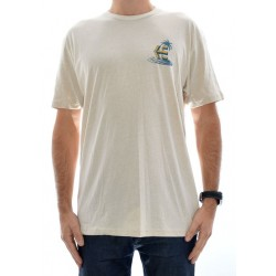 T-Shirt Etnies Another Day - Natural/White