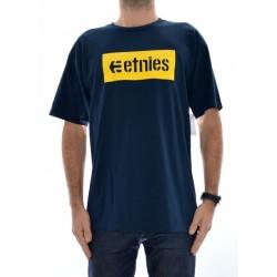 T-Shirt Etnies Corp Box - Navy