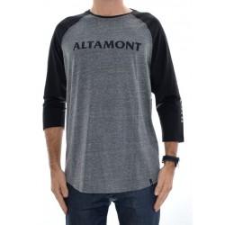 T-Shirt Altamont Cfadc Raglan - Grey/Black