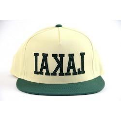 Lakai Backwards Yellow Green Hat