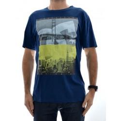 T-Shirt DC Concave - Varsity Blue