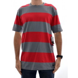 T-Shirt DC Madars Stripe - Chili Pepper