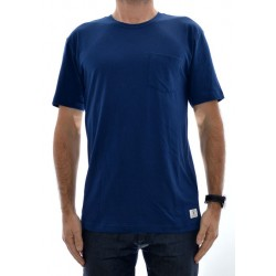 T-Shirt DC Basic Pocket - Varsity Blue