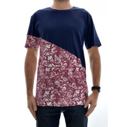 T-Shirt DC Blommington - Red/Blue