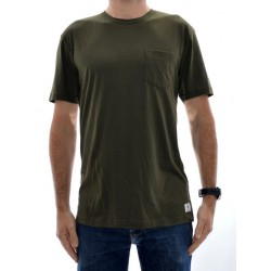 T-Shirt DC Basic Pocket - Dark Olive