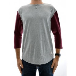 T-Shirt DC 3/4 Basic - Heather Grey