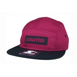 Boné Starter Label 5 panel - Burgundy