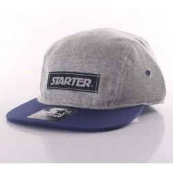 Boné Starter Label 5 panel - Grey/Navy