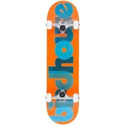"Skate Completo Birdhouse Opacity Logo Orange - 8.0"""""