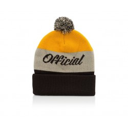 Gorro Official Chateaux Pom - Brown