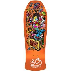 """Tábua Santa Cruz  Jeff Grosso Toybox Candy Orange  - 10"""""""" x 29.5"""""""""""