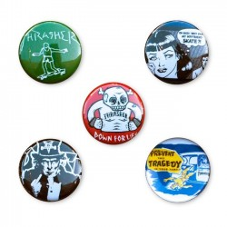 Pins Thrasher version 2 (pack 5un.)