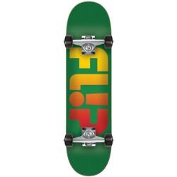 "Skate Completo Flip Faded Green - 6.75"""" (Mini)"