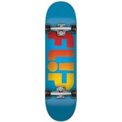 """Skate Completo Flip Fadded Blue - 7.75"""""""""""