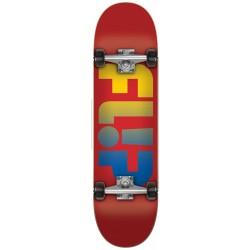 """Skate Completo Flip Fadded Red - 7.88"""""""""""