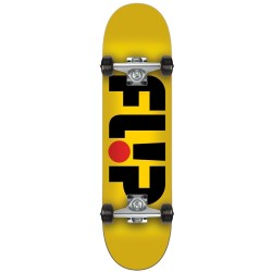 "Skate Completo Flip - Odyssey Yellow - 7.0"""" (Mini)"