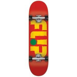 """Skate Completo Flip - Odyssey Stroked Rasta - 7.75"""""""""""