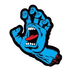 """Auto-colantes Santa Cruz Screaming Hand - 6"""""""" x 4.25"""""""""""