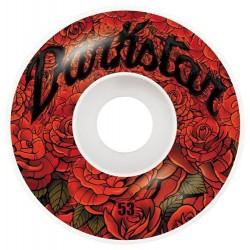 Rodas Darkstar Roses Red - 53mm