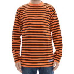 Longsleeve Clean Spirit Stripes - Orange