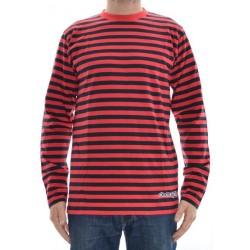 Longsleeve Clean Spirit Stripes - Red