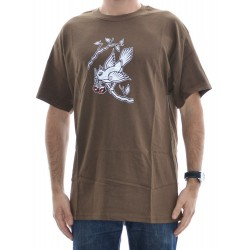 T-Shirt Consolidated Bird - Brown