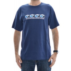 T-Shirt Consolidated 4 Cubes - Navy