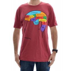 T-Shirt Enjoi Brain Dead - Red