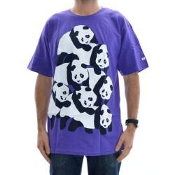 T-Shirt Enjoi Dogpile - Purple