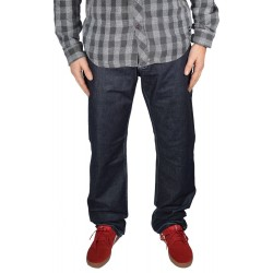 Calças Independent Team Denim Relaxed Fit - Rinse