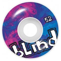 Rodas Blind Trippy OG White Purple - 52mm